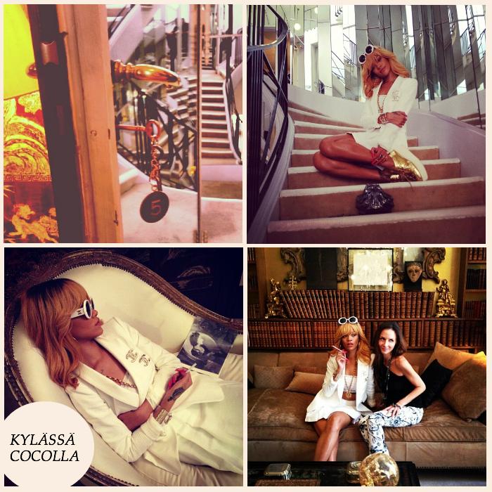 Rihanna vieraili Coco Chanelin luona – kurkkaa sinäkin legendan kotiin