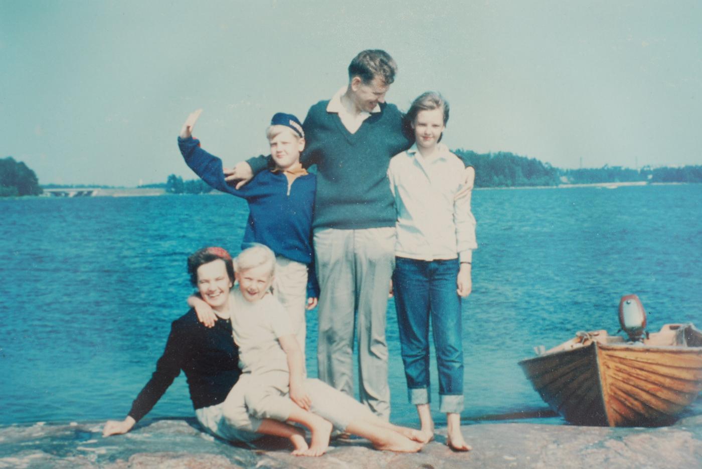 Onnellinen perhe