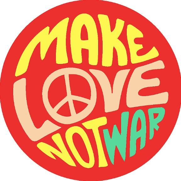 Make love not war -treffit