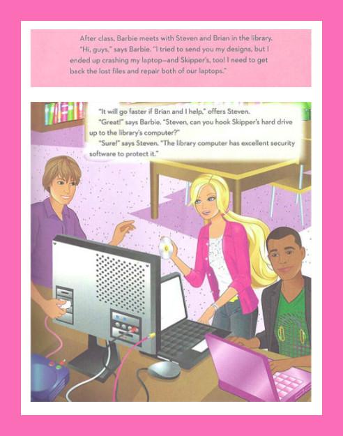 Perjantain piristys, tai: Barbie tietokoneinsinöörinä