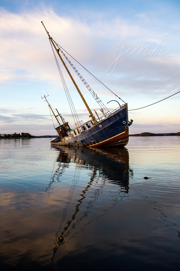 Laivanupotusta