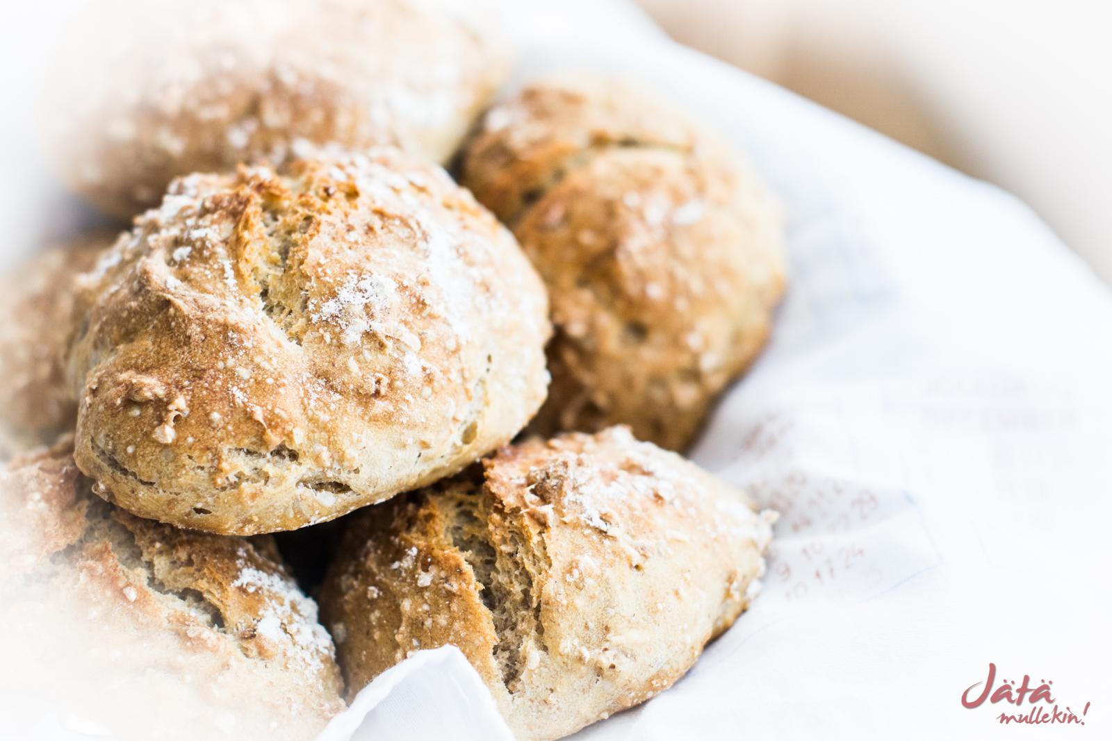 Täydelliset sämpylät – kuin suoraan leipomosta