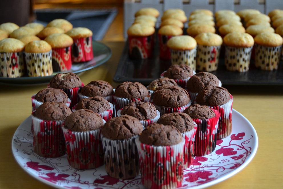 Muffineita, nam