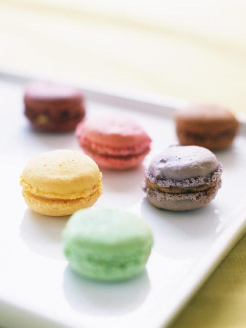 Macaron-leivoksia, hyväntekeväisyyttä ja vähän chick litiä