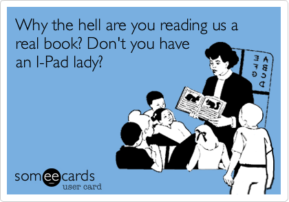 Teacher reading book someecards.png