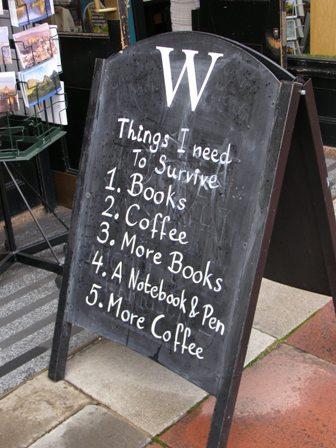 things I need to survive Tuhat ja yksi kirjaa.jpg
