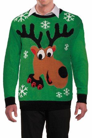 Mr Darcy reindeer sweater Sweater Store pieni.jpg