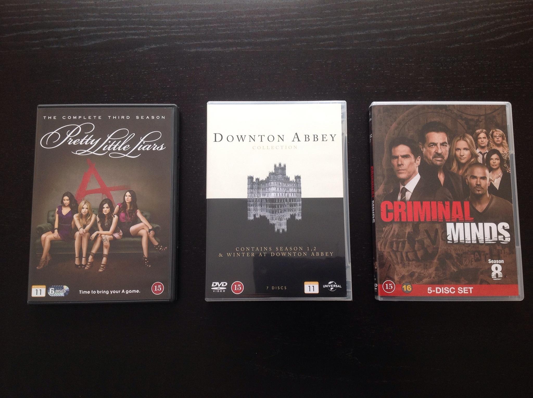 Pitkästä aikaa DVD-ostoksilla!