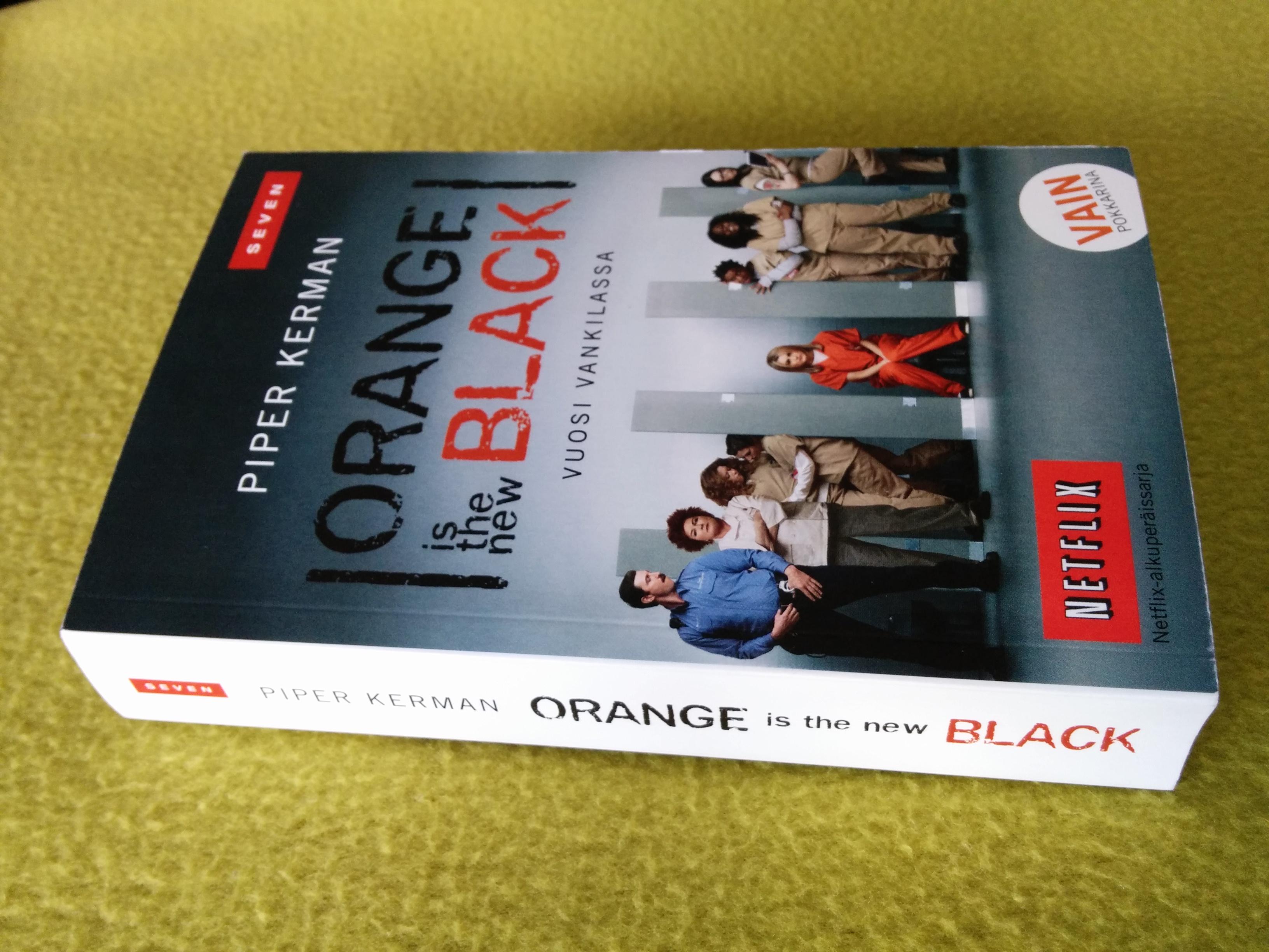 Kirjasuositus: Orange Is the New Black -kirja
