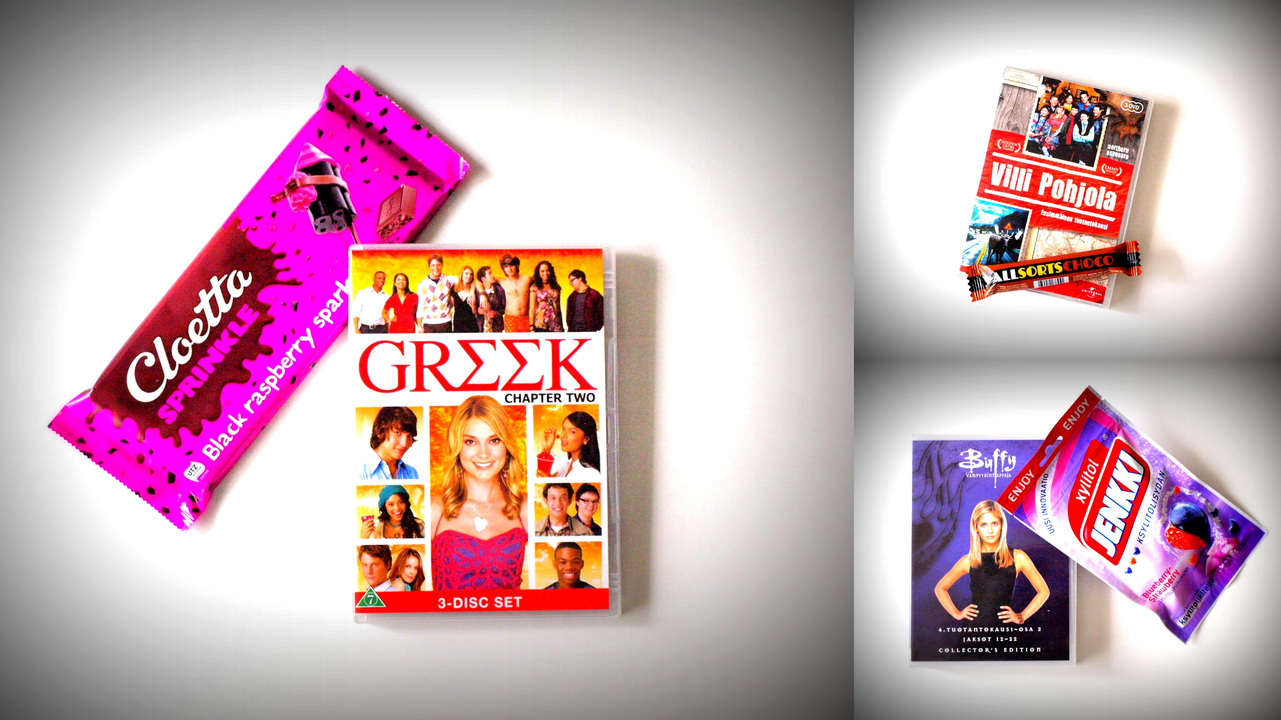 Minun DVD-hyllyni sisältöä (osa 1)