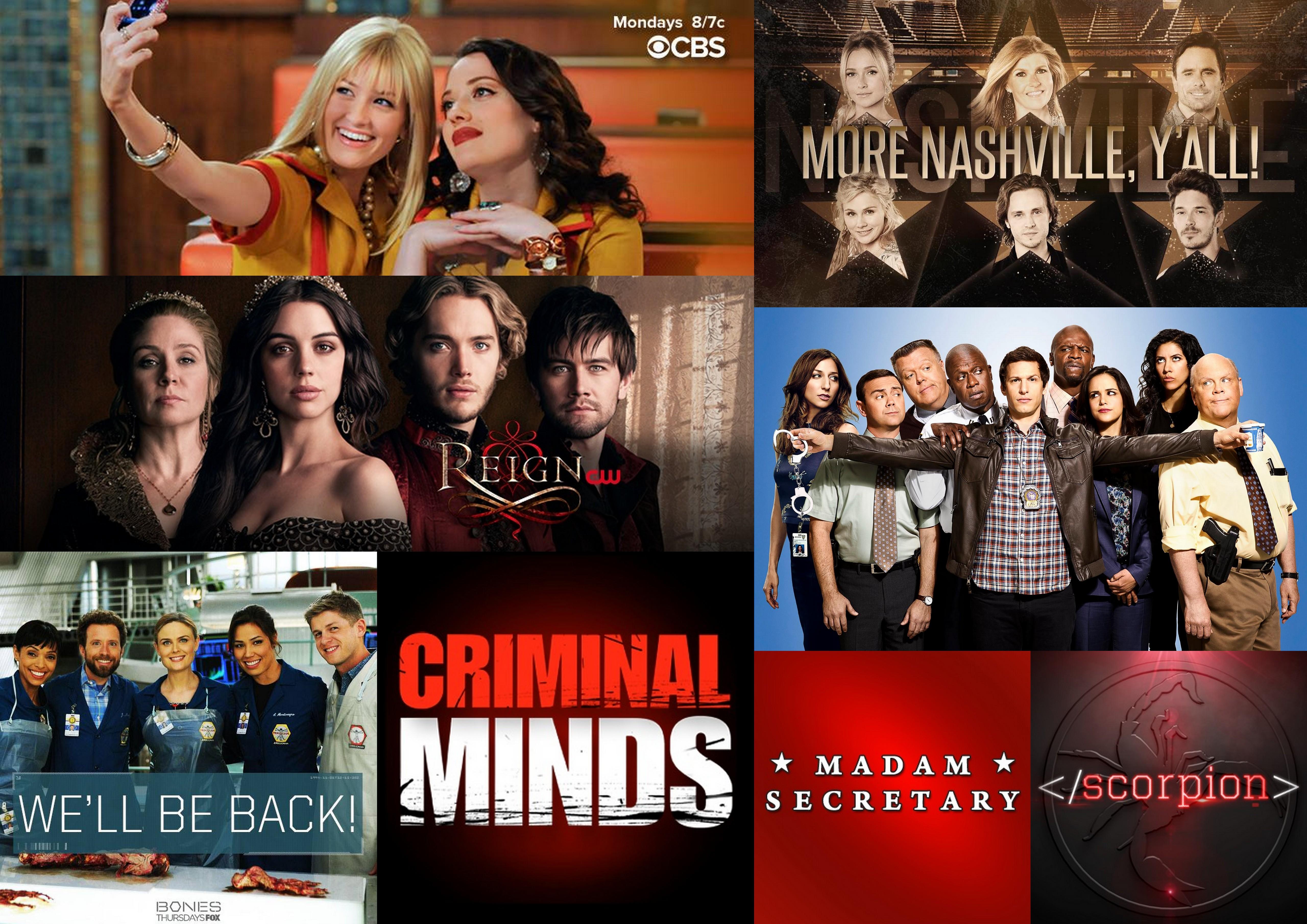 Kohtalon kirves iskee: uusitut ja lopetetut tv-sarjat (kevät 2015)