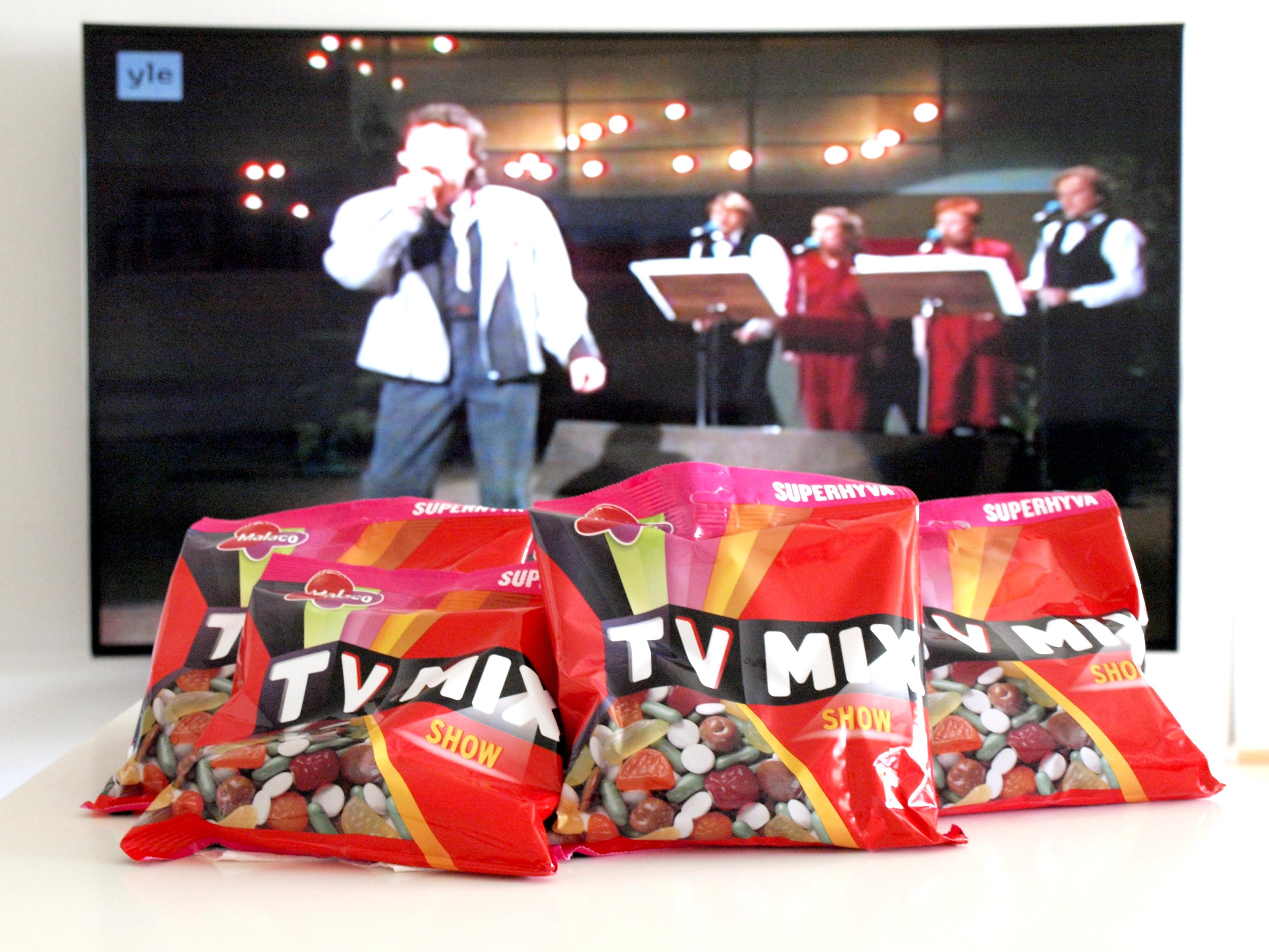 Arvonta: fiilistele Euroviisuja ja voita TV Mix -karkkia!!
