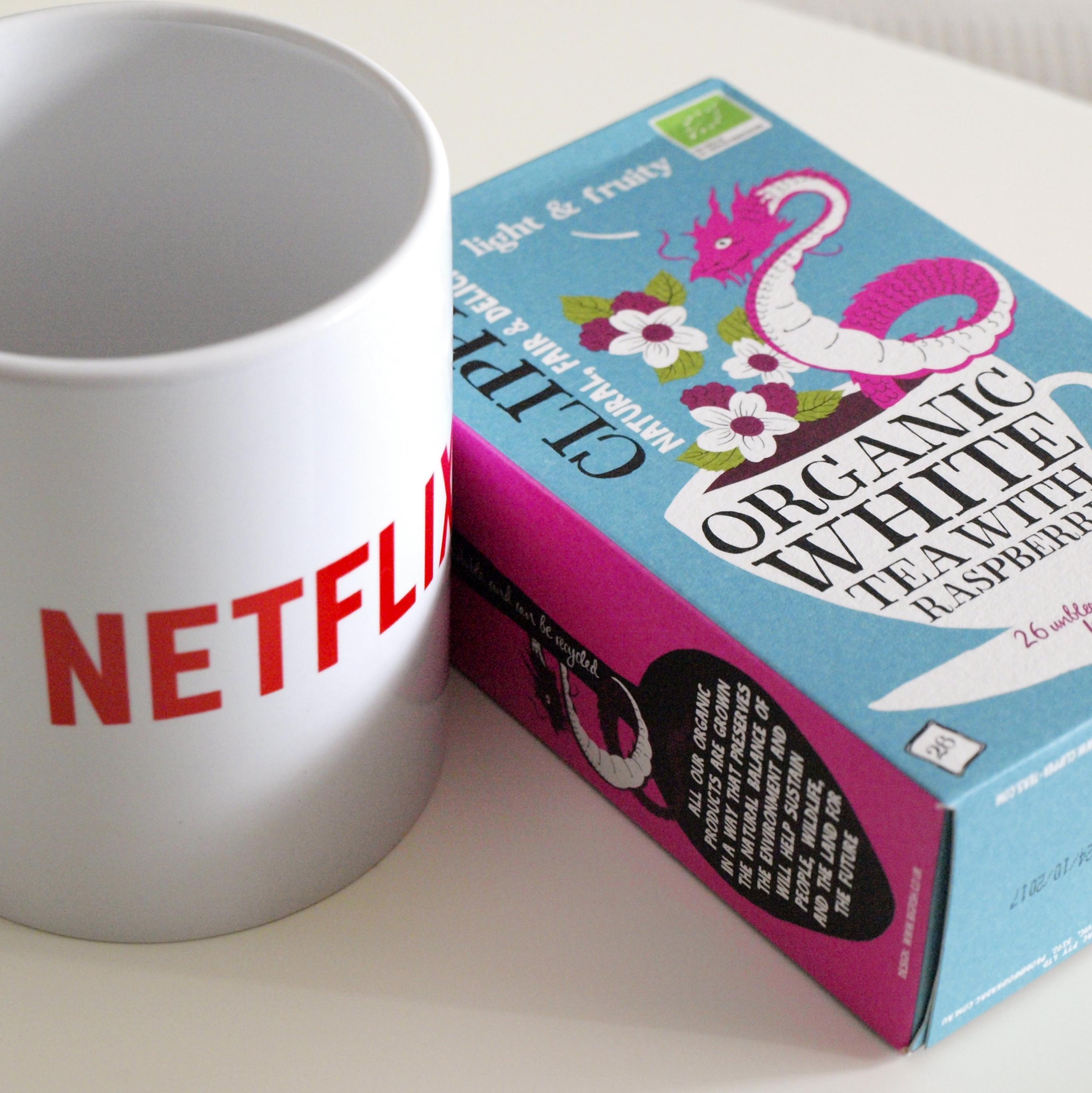 Minä + flunssa = Netflix & tee