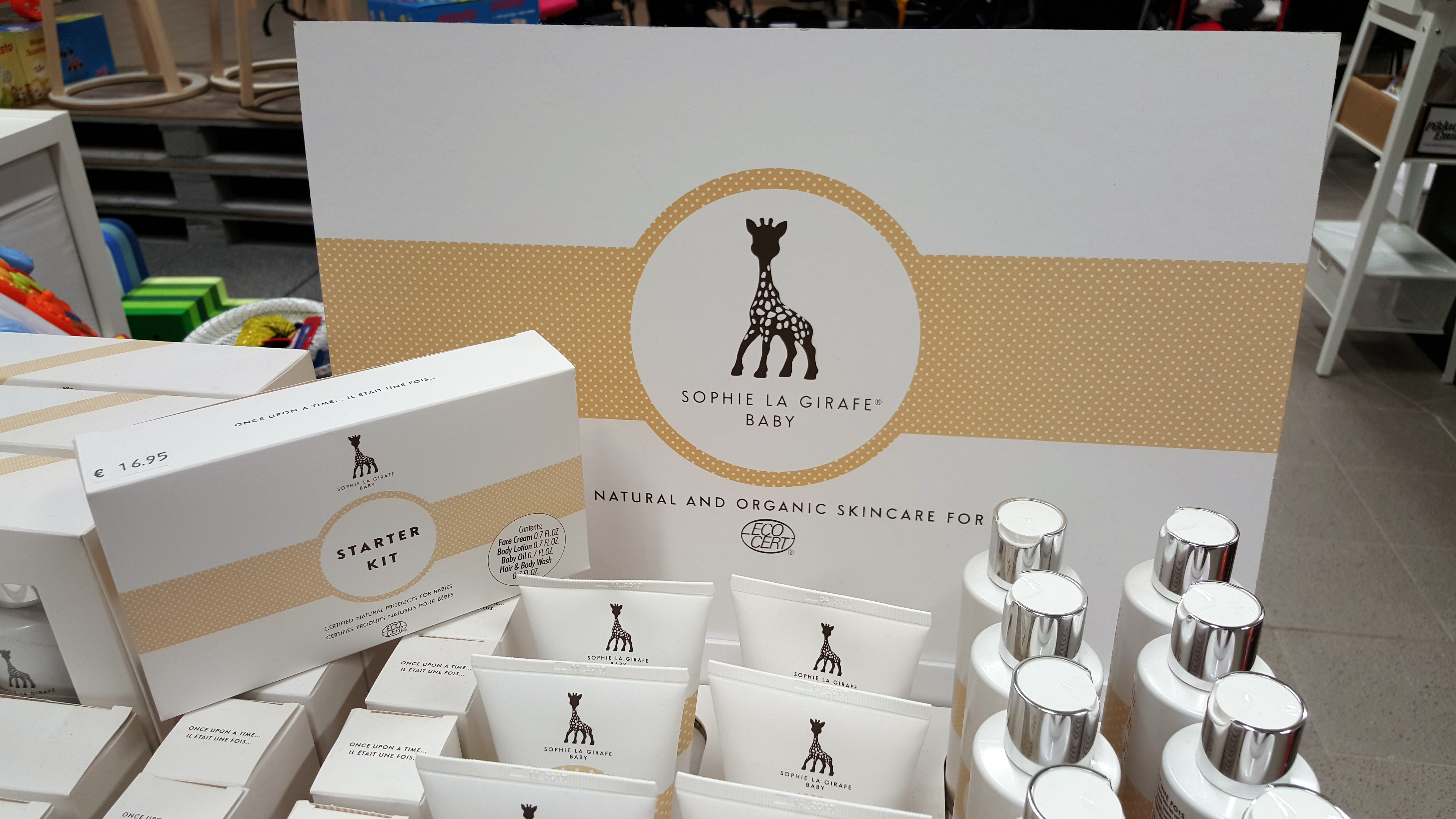 ARVONTA: Sophie La Girafe Baby -aloituspakkaus (+alennuskoodi)