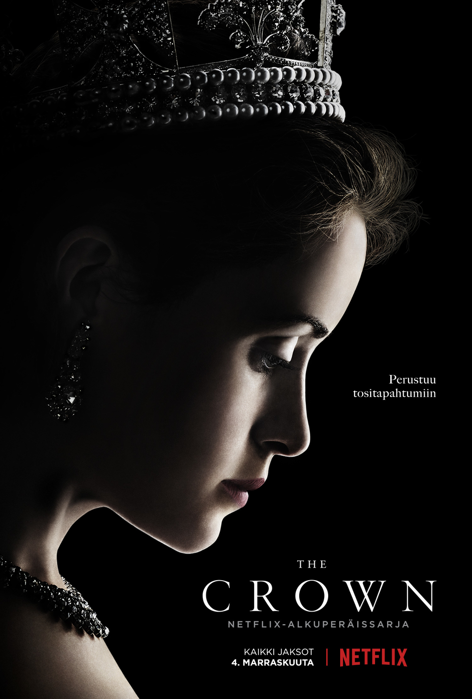 Uutuussarja The Crown: Brittimonarkiaa Netflixissä