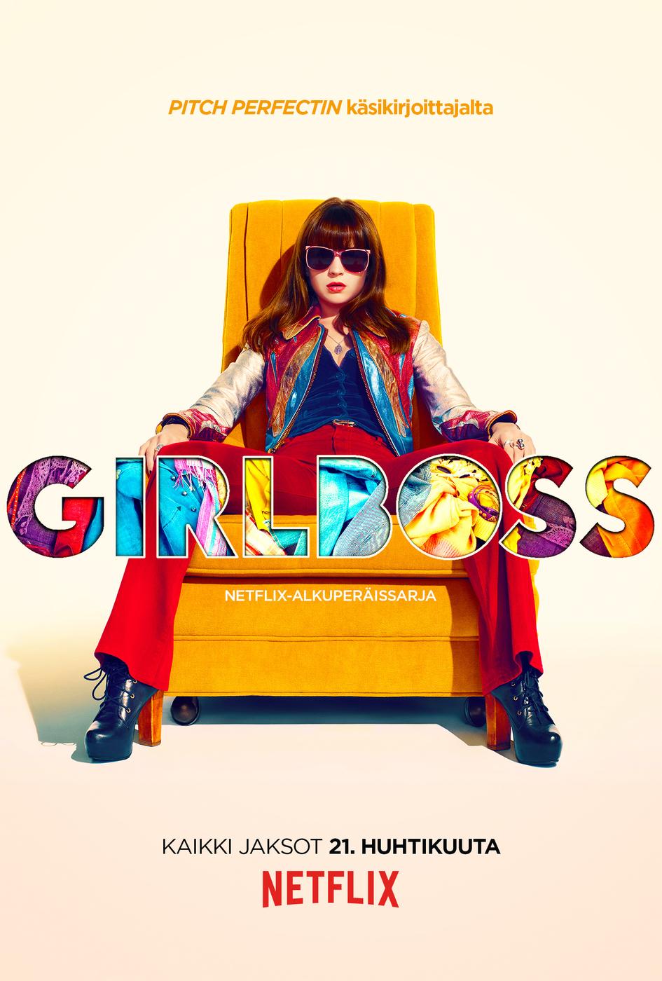 Uutuussarja Girlboss: Sä pystyt ihan mihin vaan!