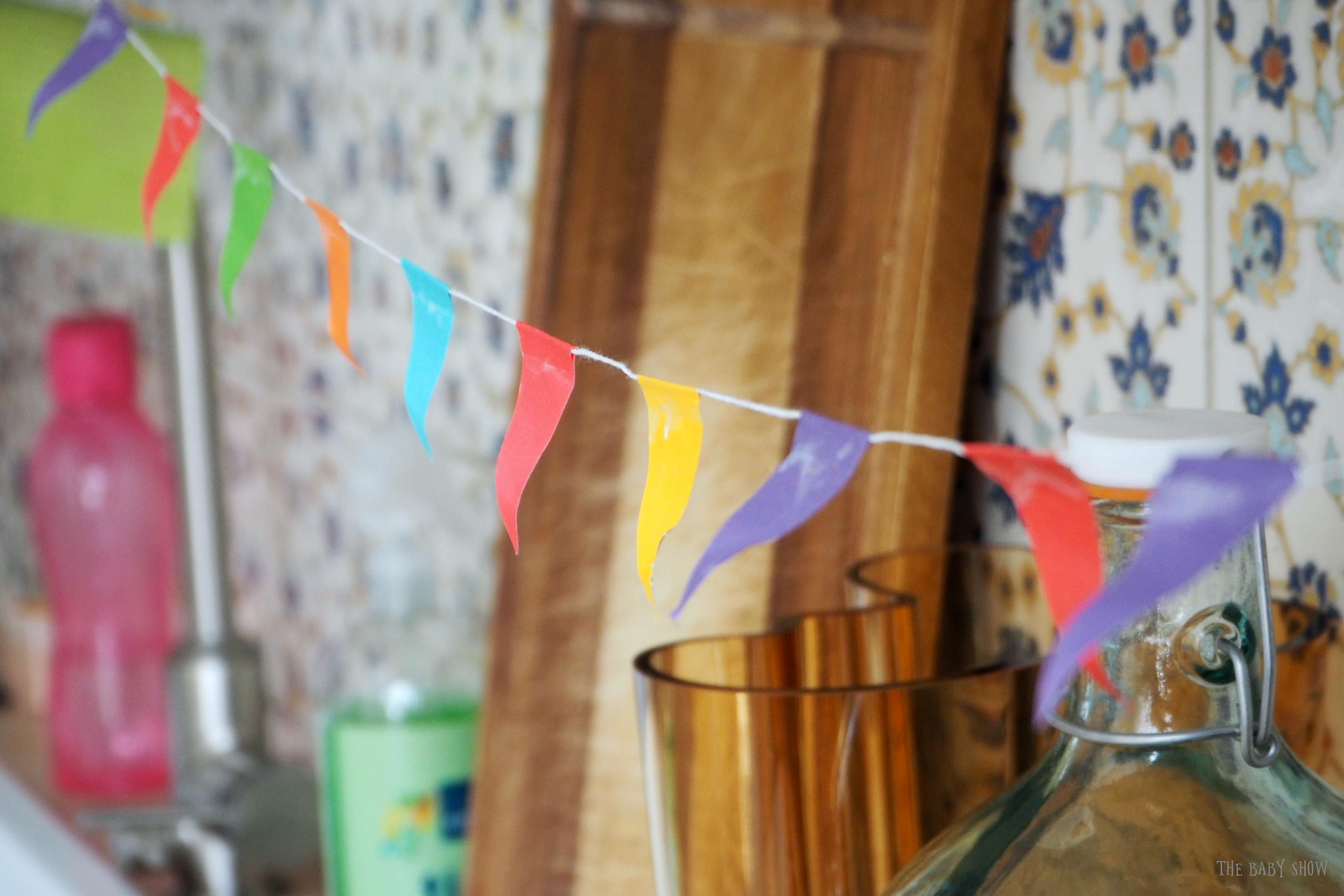 Syntymäpäiväviiri keittiö.JPG