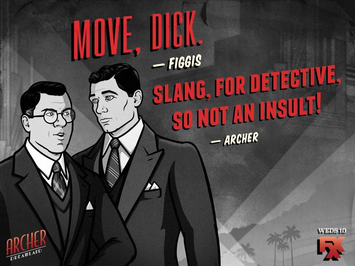 Aikuisten animaatio Archer viihdyttää vintagella