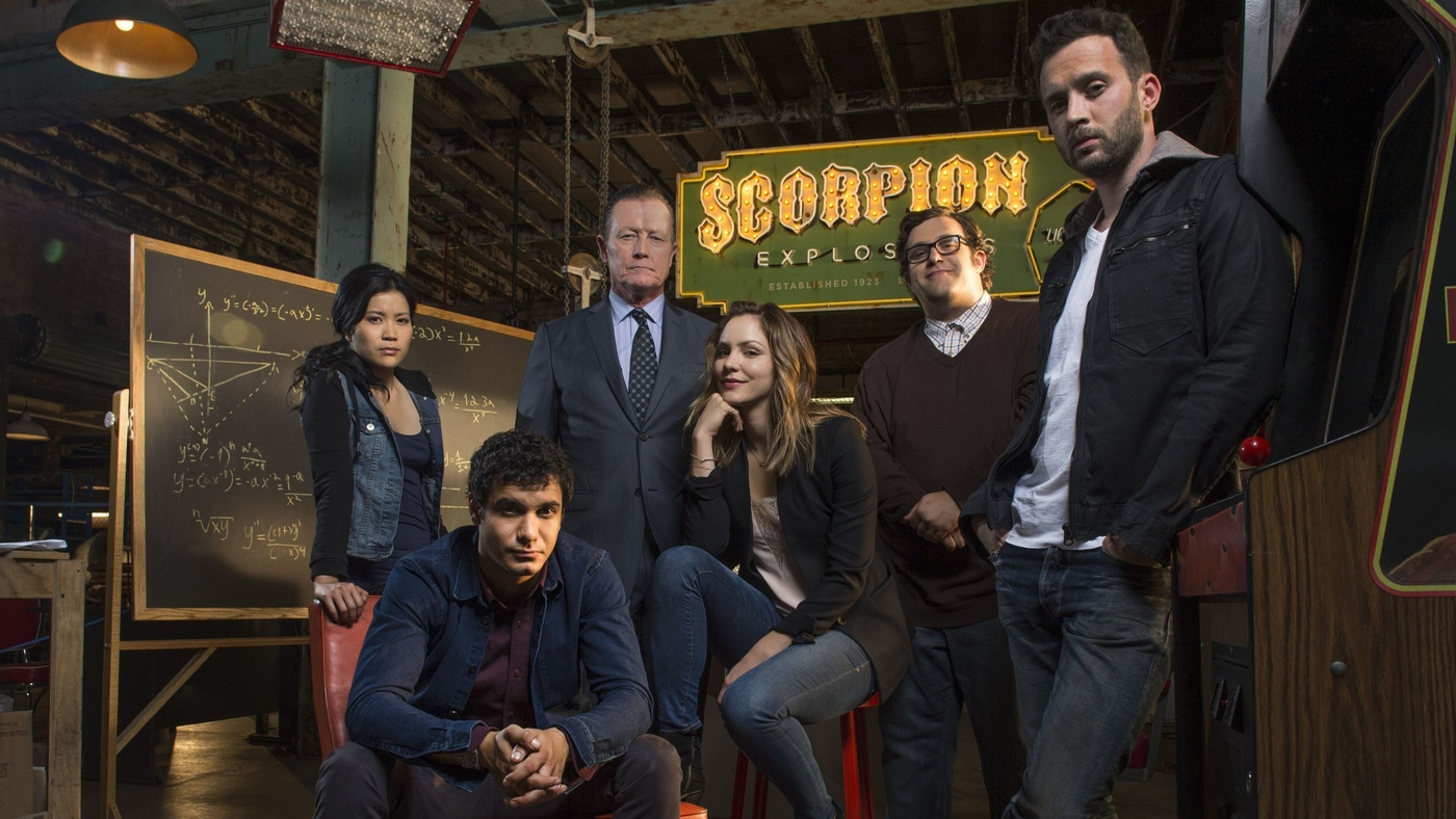 Scorpion CBS Cast Garage.jpg