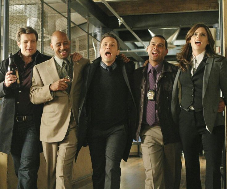 Castle season 3 cast.jpg