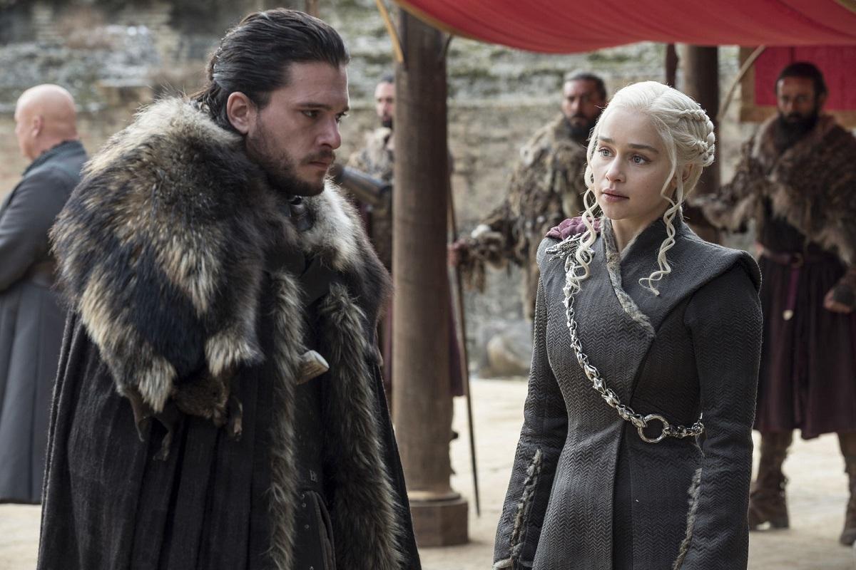 Game of Thrones season 7 Jon Snow Daenerys HBO Macall B. Polay.jpg