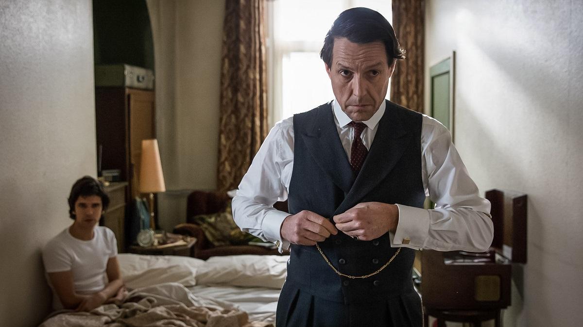 A Very English Scandal Ben Whishaw Hugh Grant BBC Yle Sophie Mutevelian.jpg