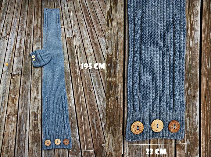 DIY: Neulo kaulaliina puolessa tunnissa ilman puikkoja - näin se onnistuu