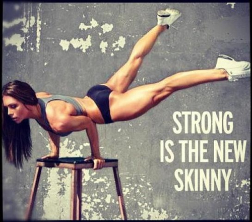 Strong is the new skinny vai miten se oli?