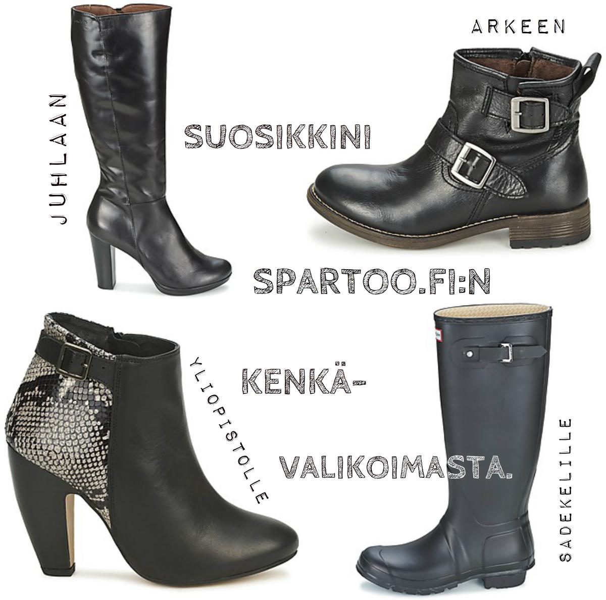 Spartoo.fi:stä ihania kenkiä syksyksi