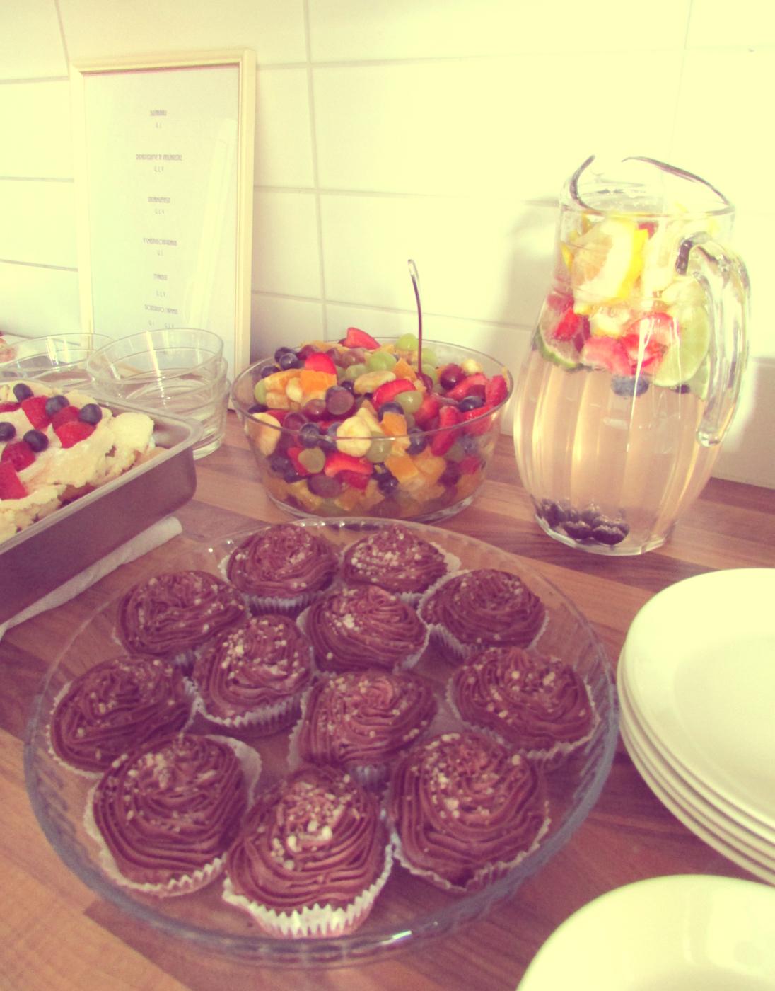 Gluteenittomia, laktoosittomia ja vegaanisia leivonnaisia