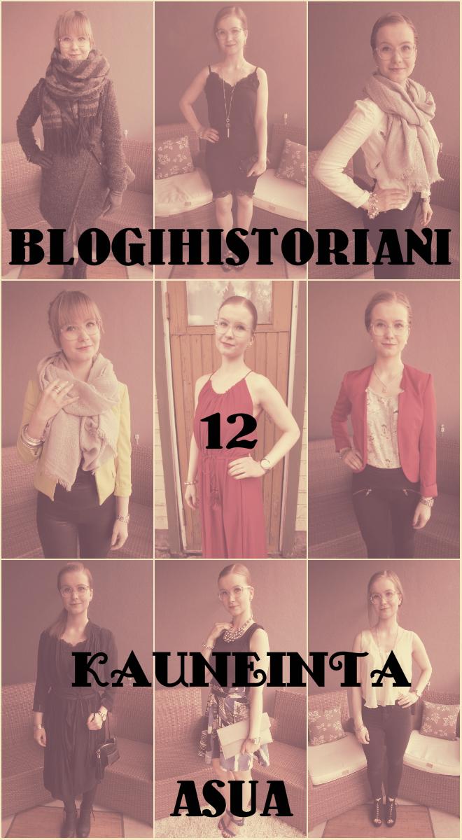 Blogihistoriani 12 kauneinta asua