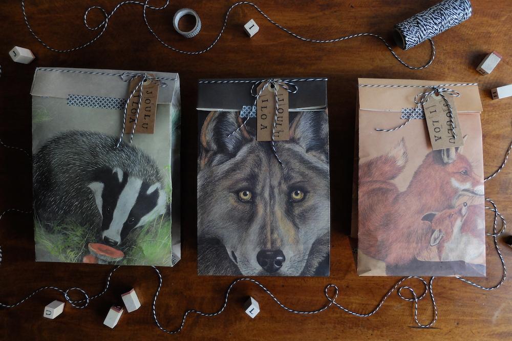 Eläimellisiä lahjapaketteja