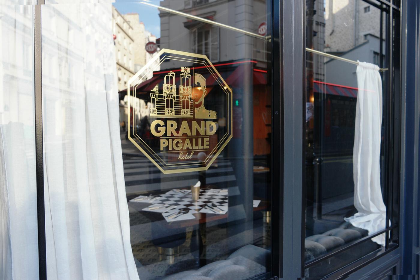 Ihastuttava Grand Pigalle Hotel