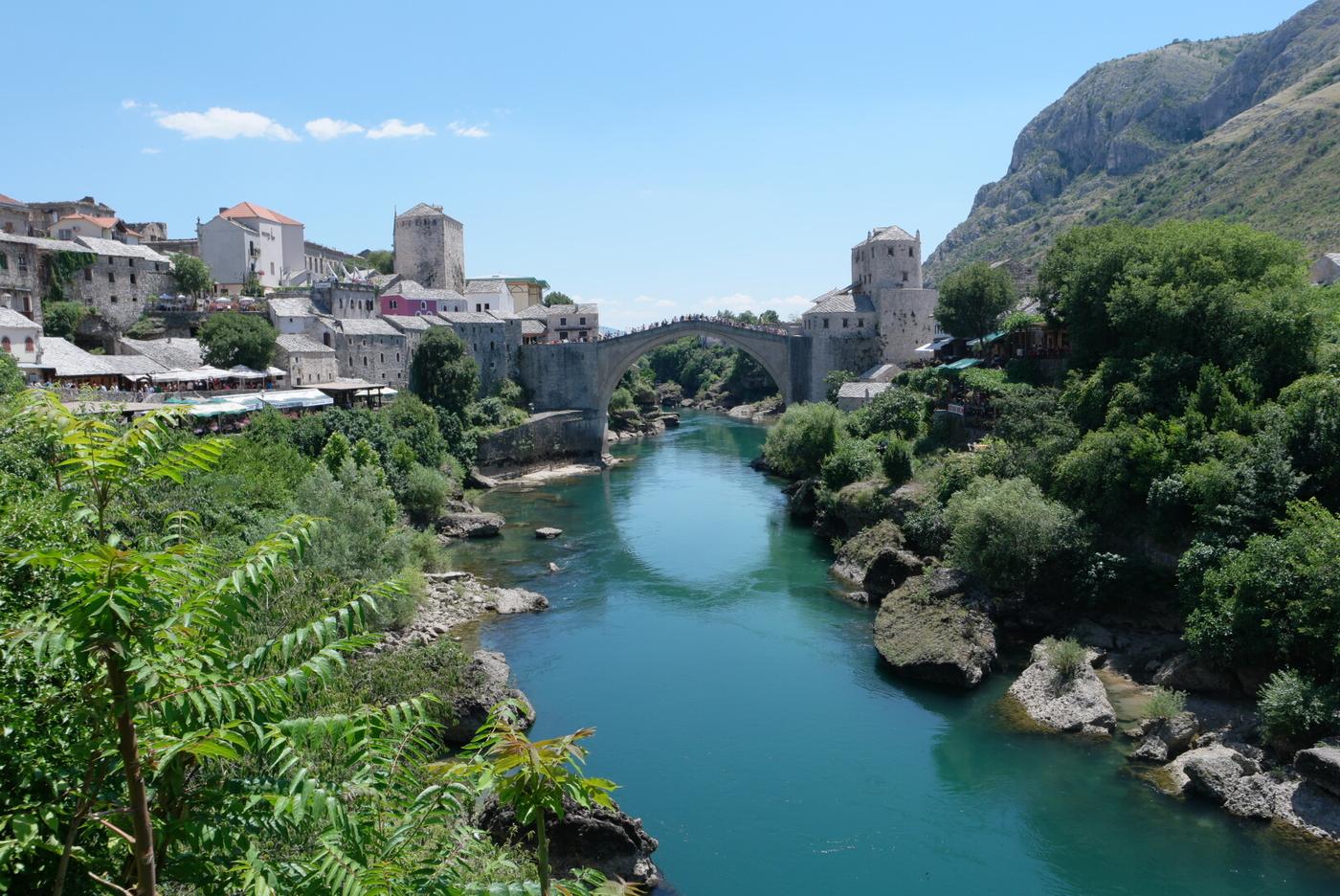 Balkan: Vihreä ja vuoristoinen Bosnia-Hertsegovina
