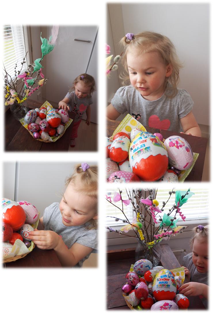 Munia, tipuja, munia, tipuja, niistä on meidän pääsiäinen tehty!!