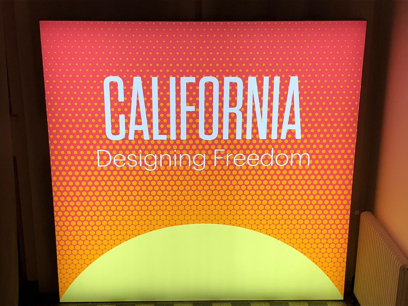 Kalifornian tuulia Designmuseossa