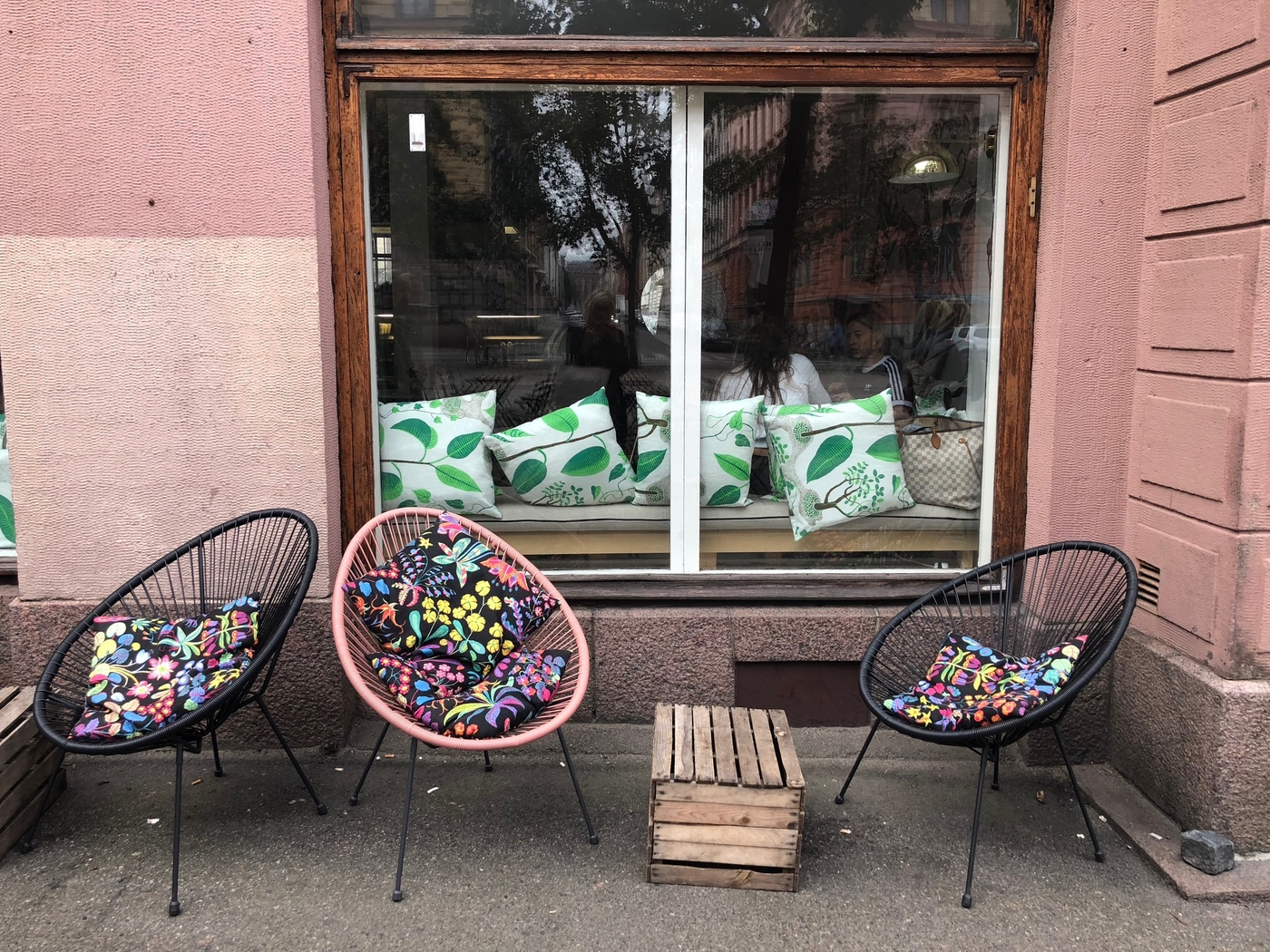 Punavuoren sympaattisin kahvila, Green Hippo Cafe