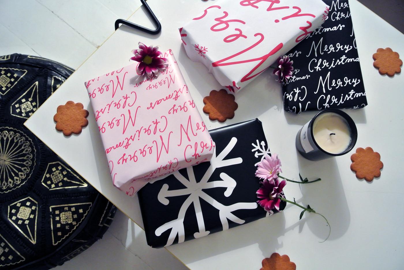 Paketoi mun tekemään joulupaperiin!