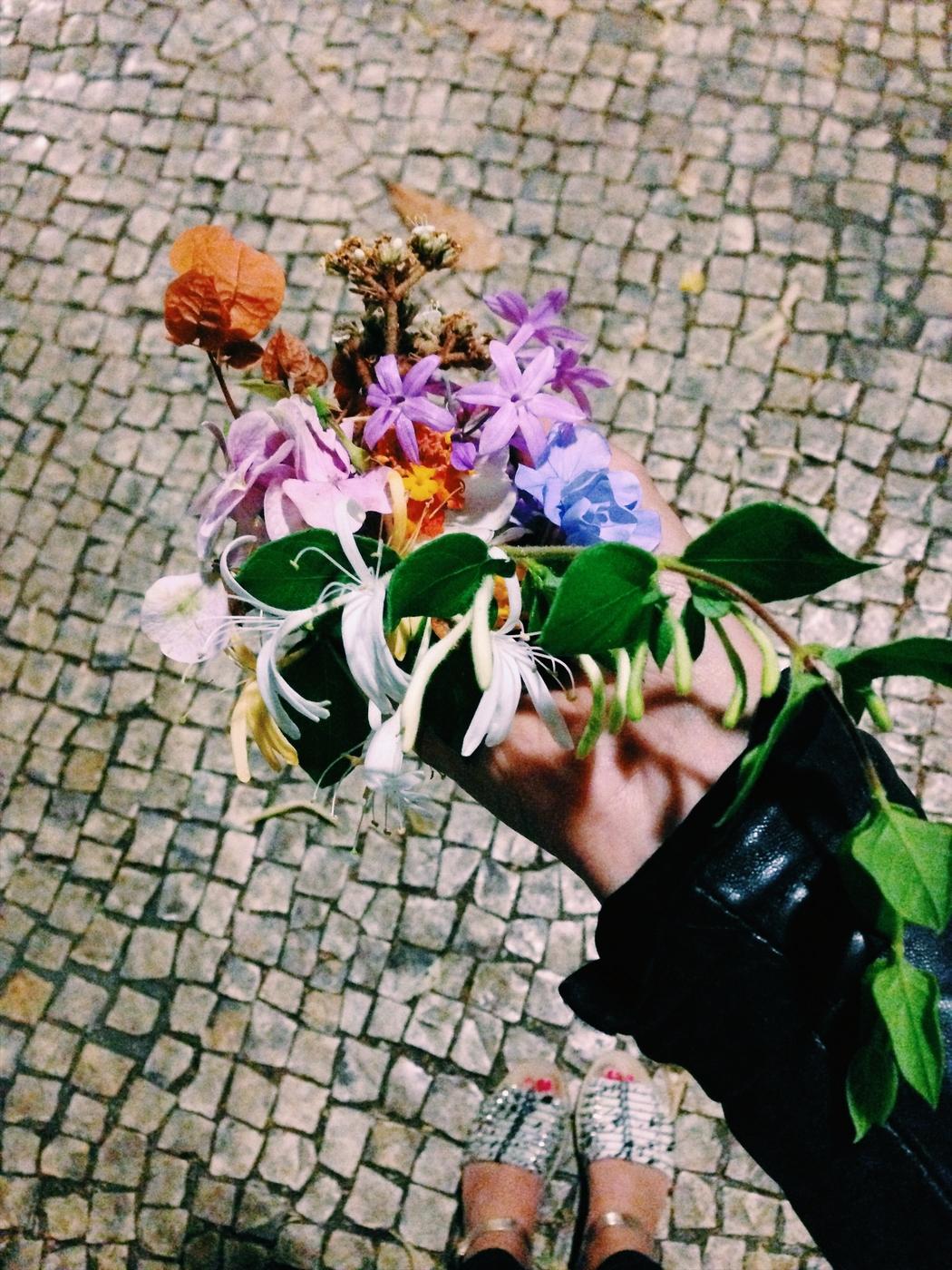 Seitsemän kukkaa (ja juhlapyhää) Lissabonissa
