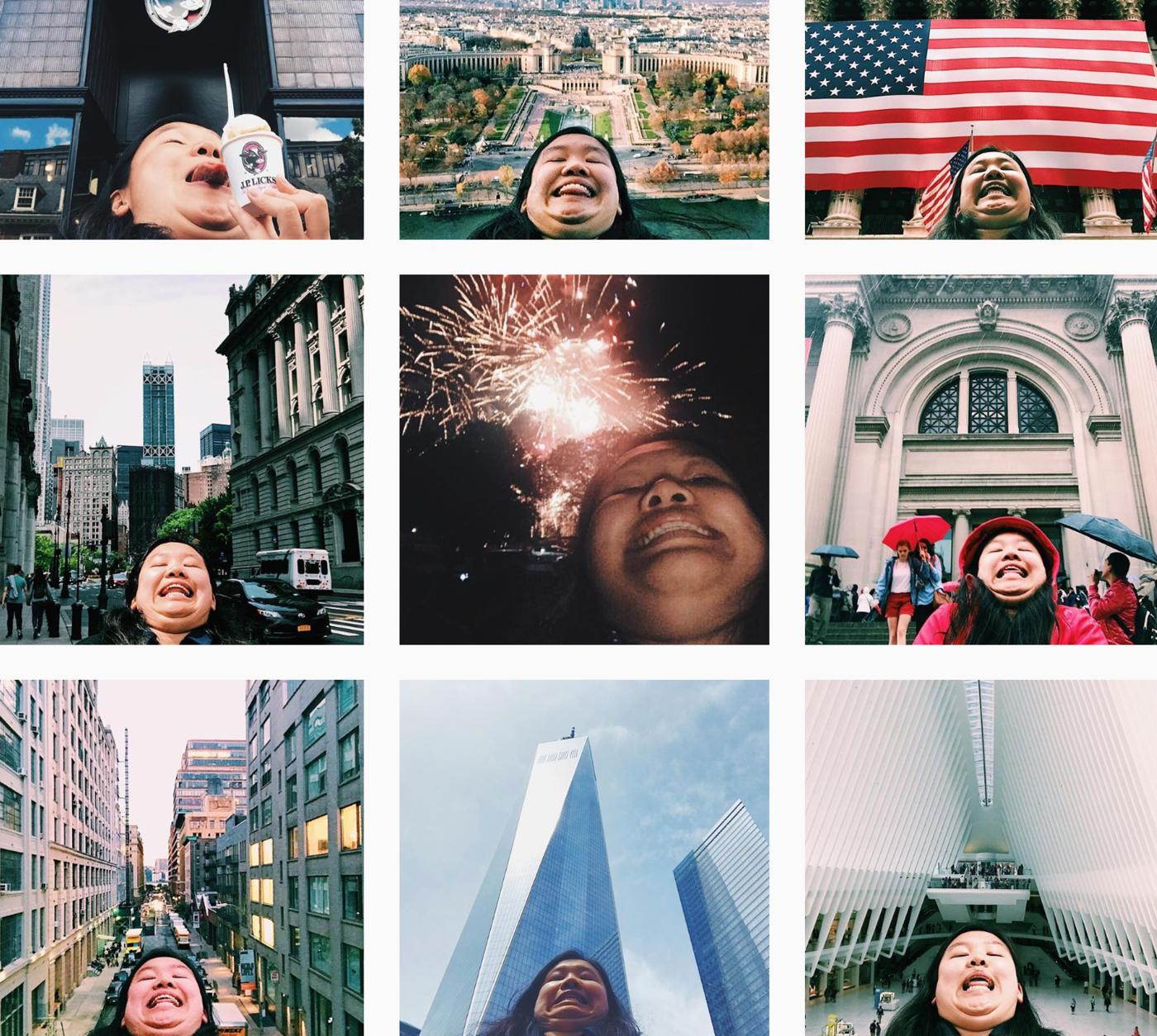 Paras tapa ottaa loma-selfieitä