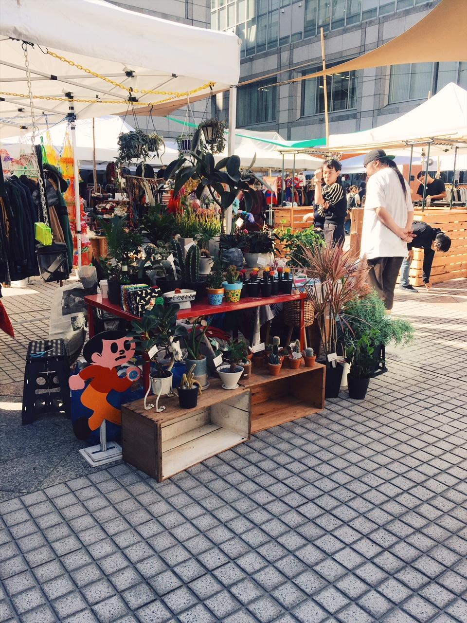 Raw Tokyo – ihana kirppis ja farmers market