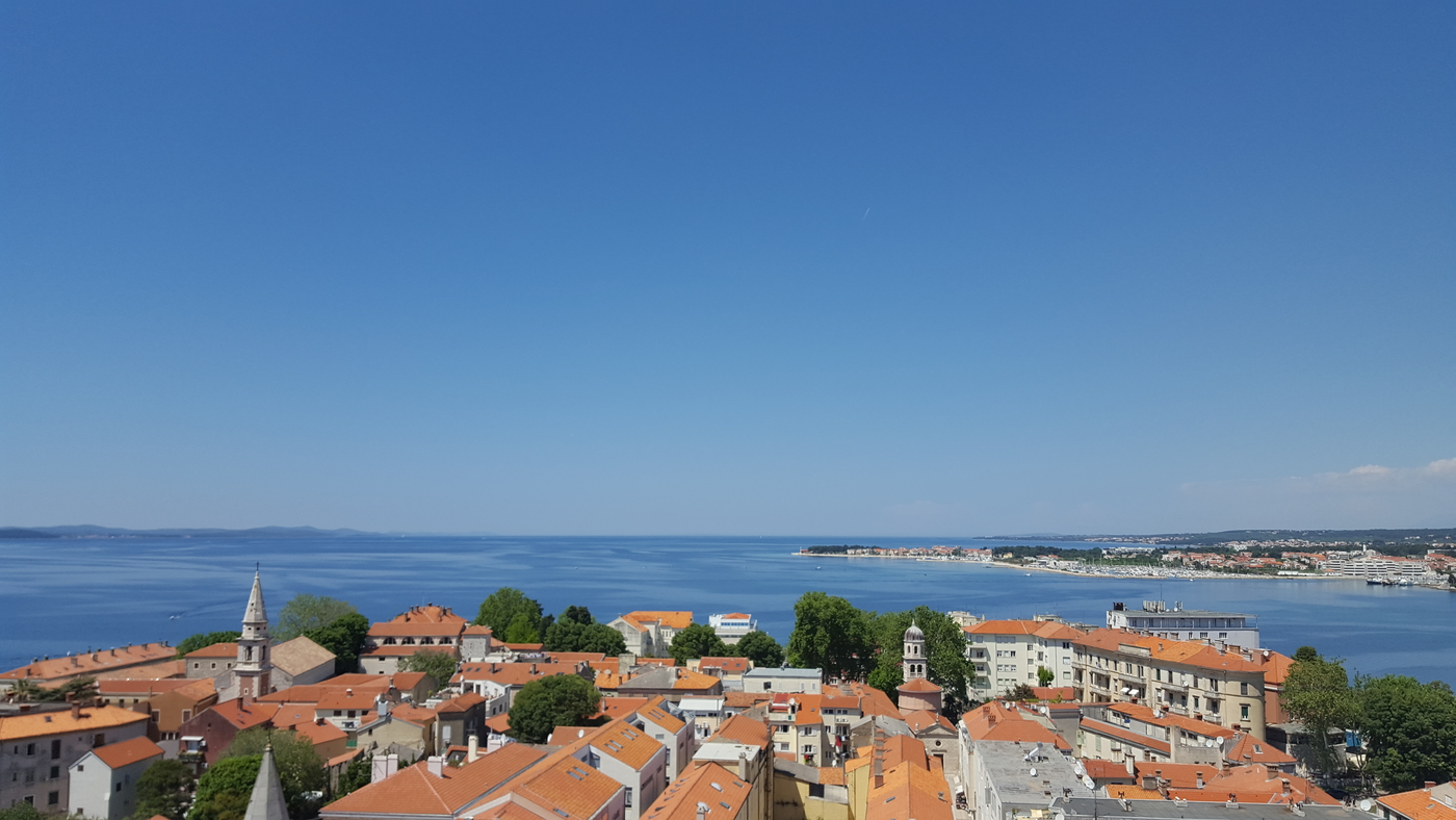 Viikonloppu Zadarissa
