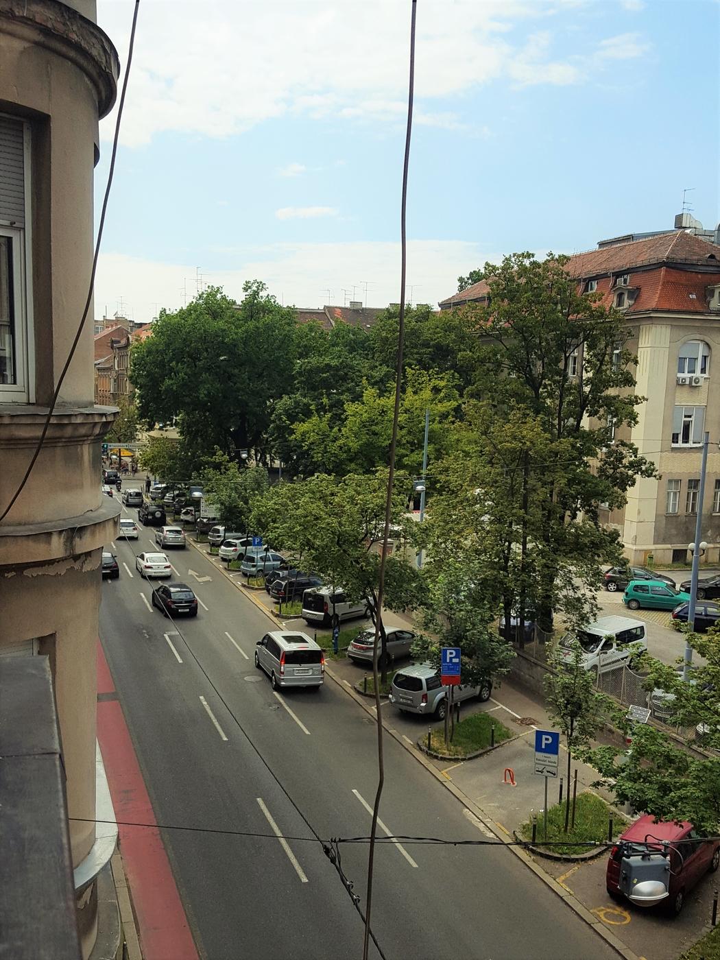 Zagrebin hullu liikenne