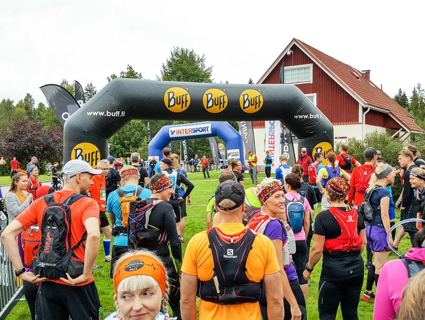 Nuuksio Classic Trail Marathon 2017