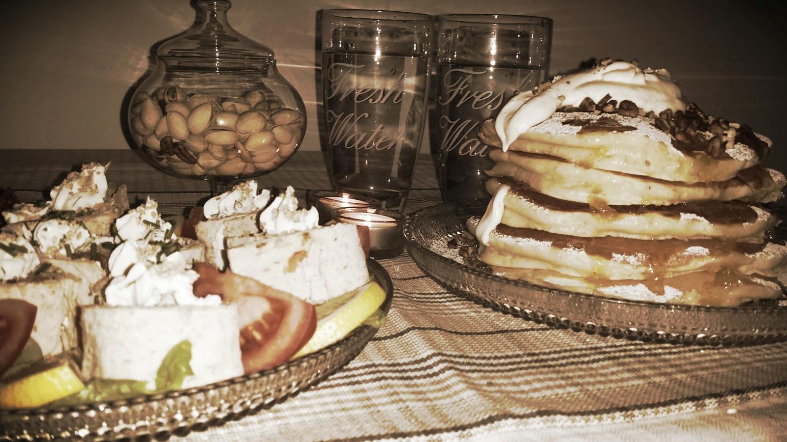 Ihanan aamun avaimet – bagel-lohirullat sekä amerikkalaiset pannukakut