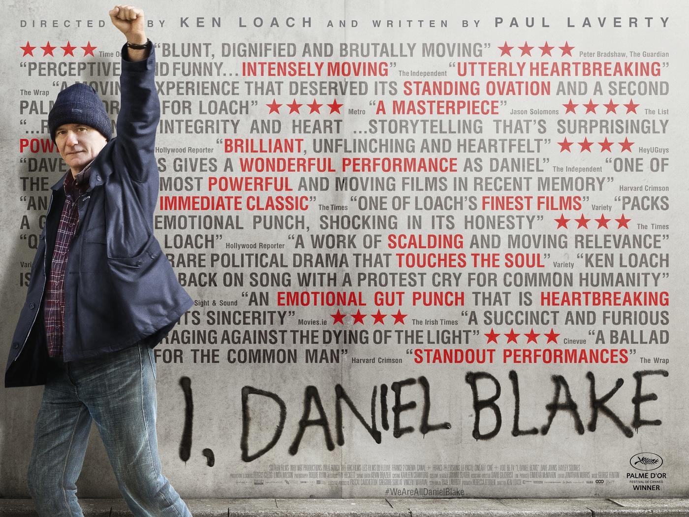 ELOKUVAVINKKI: Lannistumaton Daniel Blake