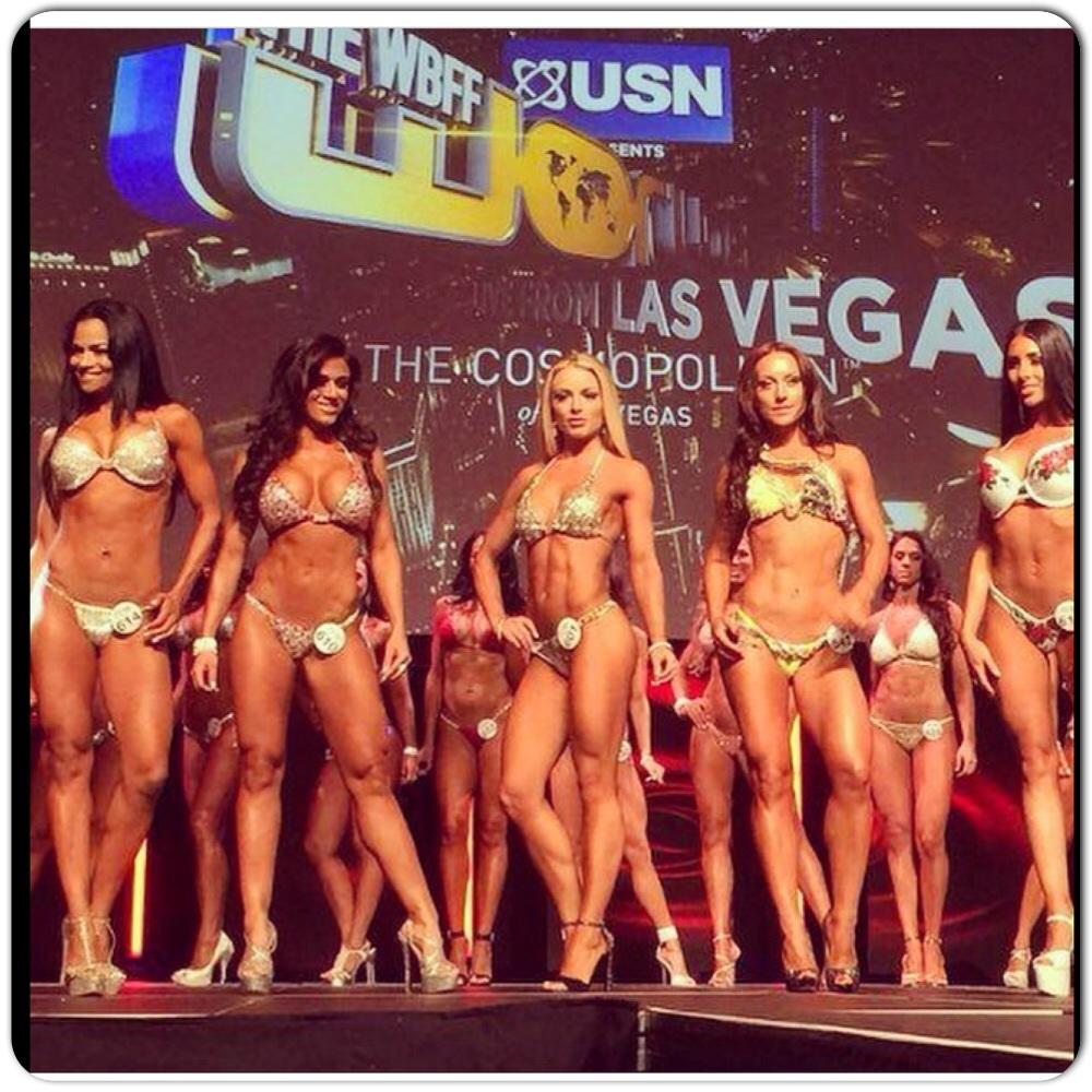 THE WBFF – spektaakkelimainen show Las Vegasissa!
