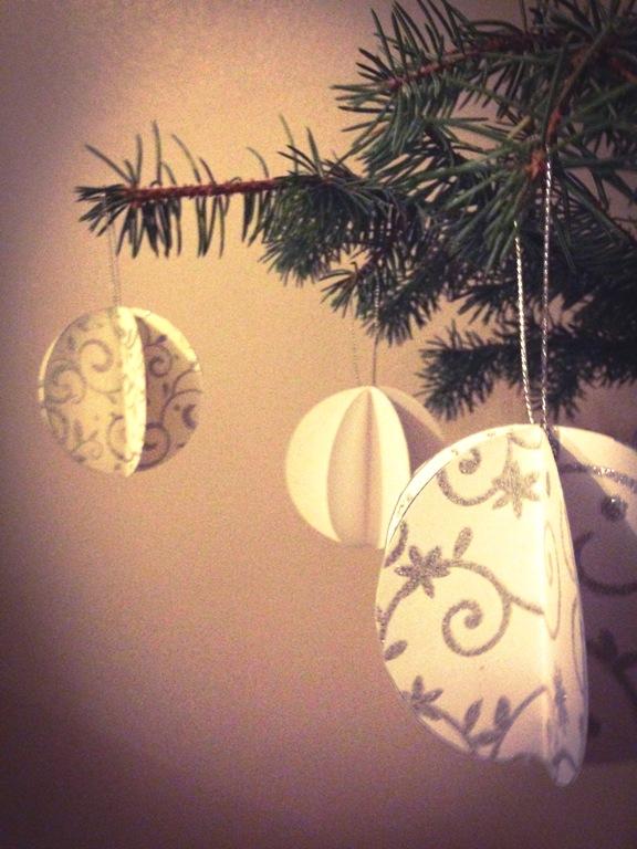 DIY joulupallot