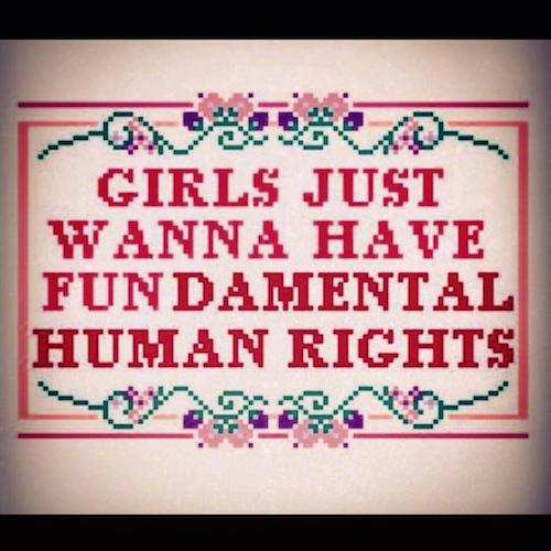 Naiset, muistakaa olla kiitollisia!