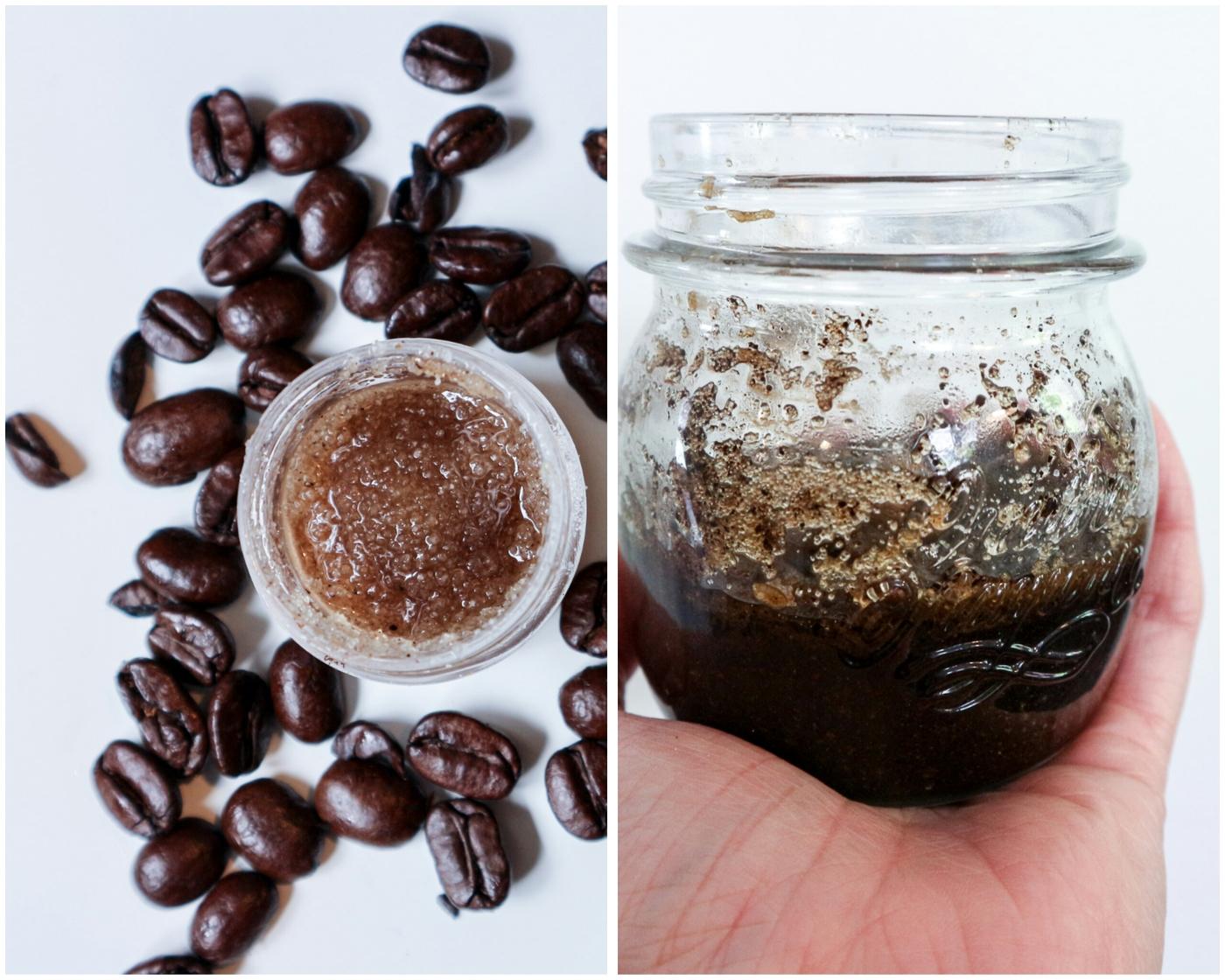 DIY kosmetiikka – kahviset sokerikuorinnat